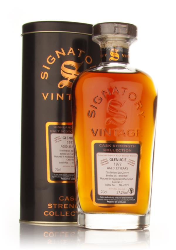 Glenugie 33 Year Old 1977 - Cask Strength Collection (Signatory) Single Malt Whisky