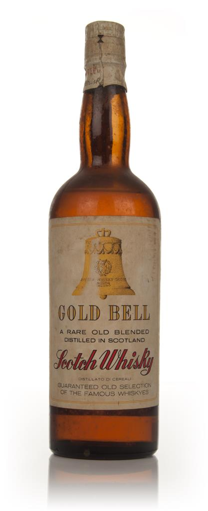 Gold Bell Blended Scotch Whisky - 1960s Blended Whisky