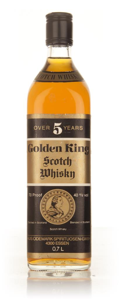 Golden King 5 Year Old Scotch Whisky - 1970s Blended Whisky