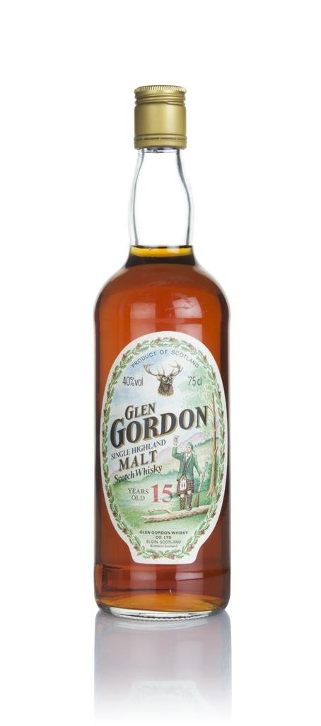 Glen Gordon 15 Year Old - 1980s Single Malt Whisky