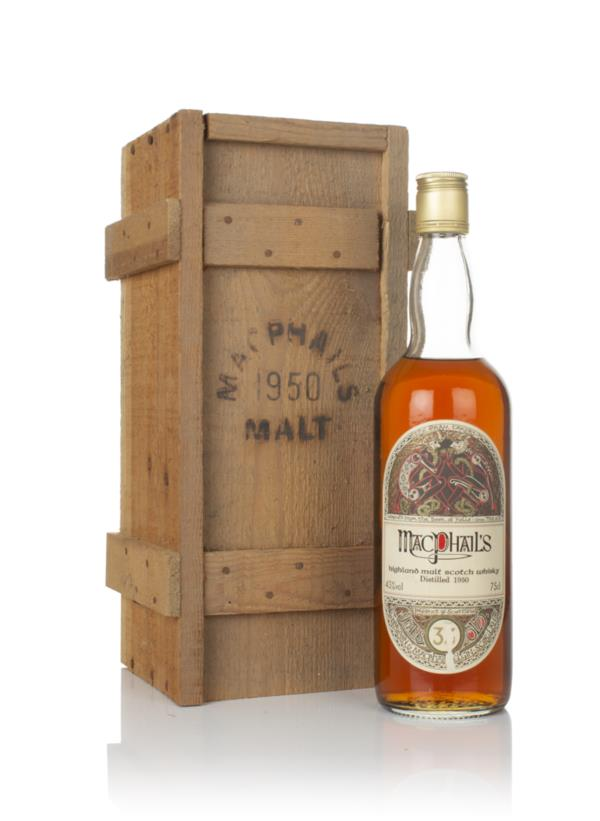 MacPhails Malt 33 Year Old 1950 Single Malt Whisky