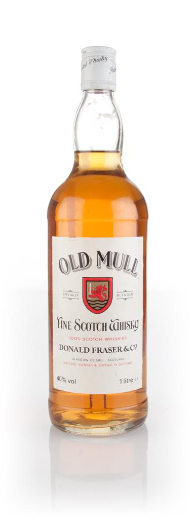 Old Mull Blended Scotch Whisky 1l - 1980s Blended Whisky