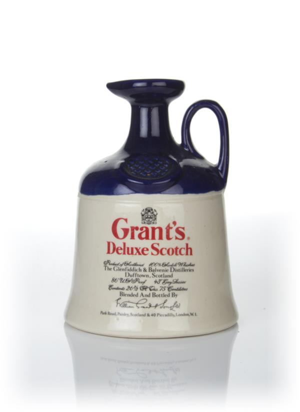Grants Deluxe Scotch Decanter - 1970s Blended Whisky