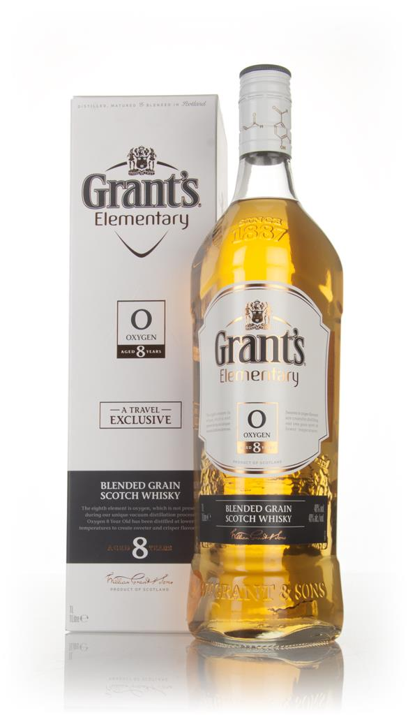 Grants Elementary 8 Year Old - Oxygen Grain Whisky