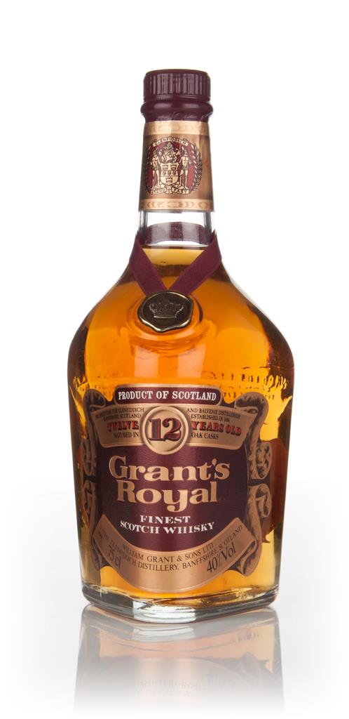Grants Royal 12 Year Old - 1970s Blended Whisky