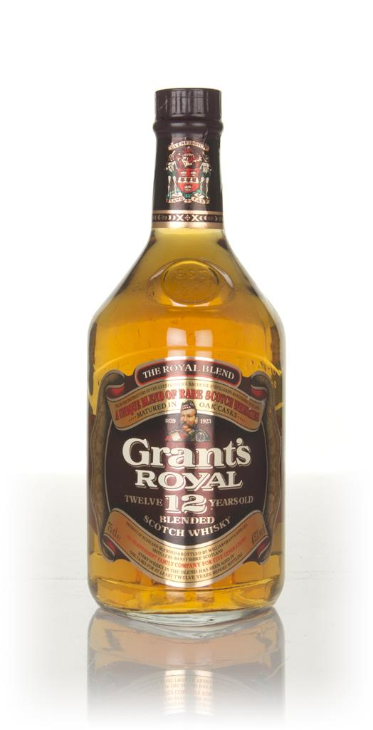 Grants Royal 12 Year Old (43%) - 1970s Blended Whisky