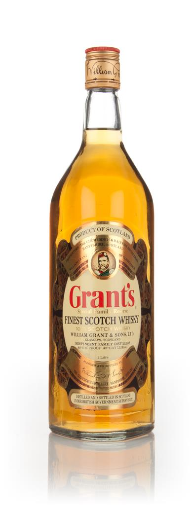 Grants Special Family Reserve Finest 1l - 1970s Blended Whisky