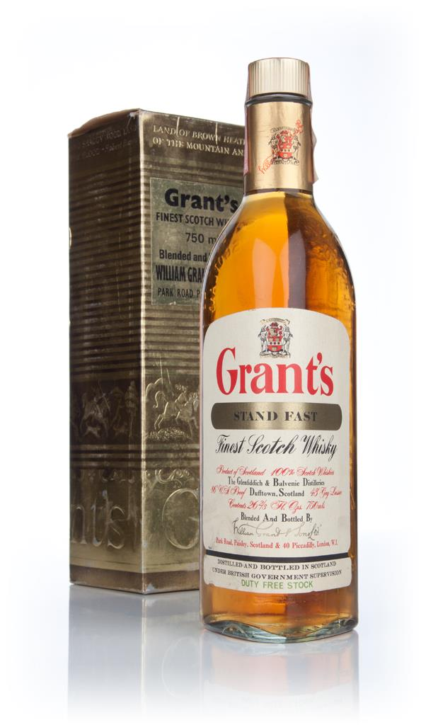 Grants Stand Fast (Gold Box)  - 1970s Blended Whisky
