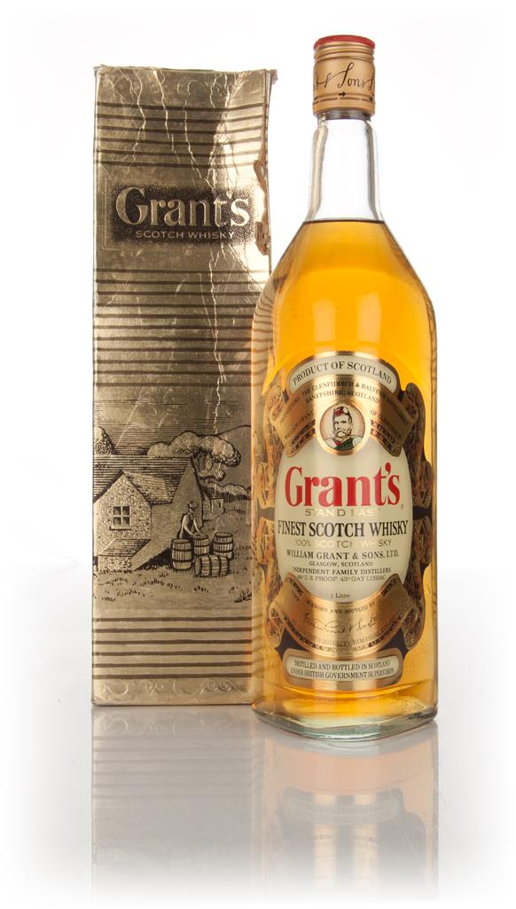 Grants Stand Fast (Gold Box) 1l - 1970s Blended Whisky