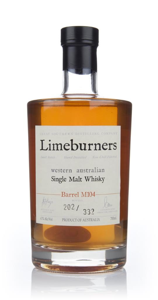 Limeburners Single Malt Whisky (cask M104) Single Malt Whisky
