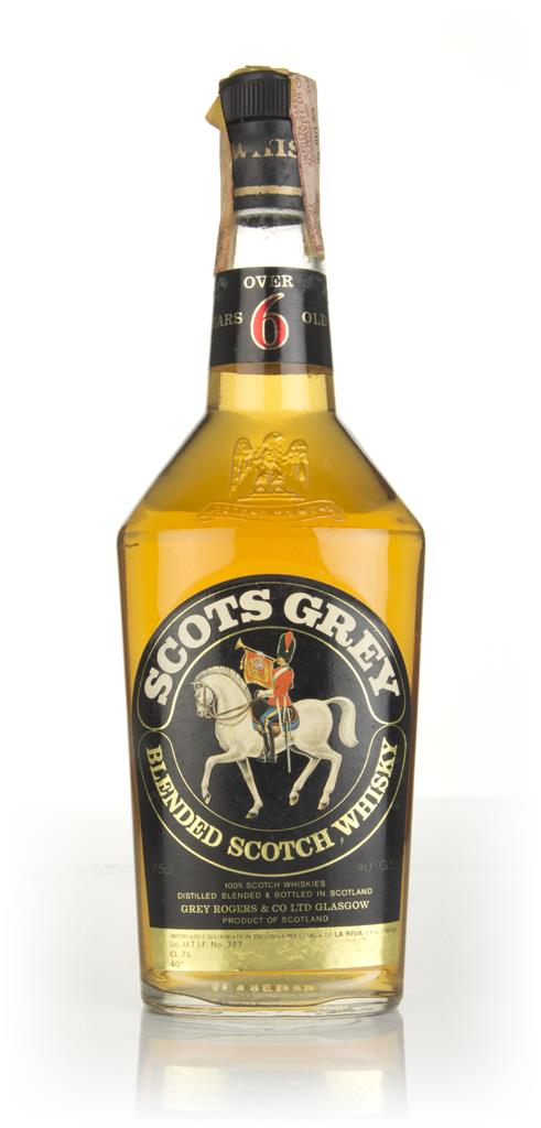 Scots Grey Whisky - 1970s Blended Whisky