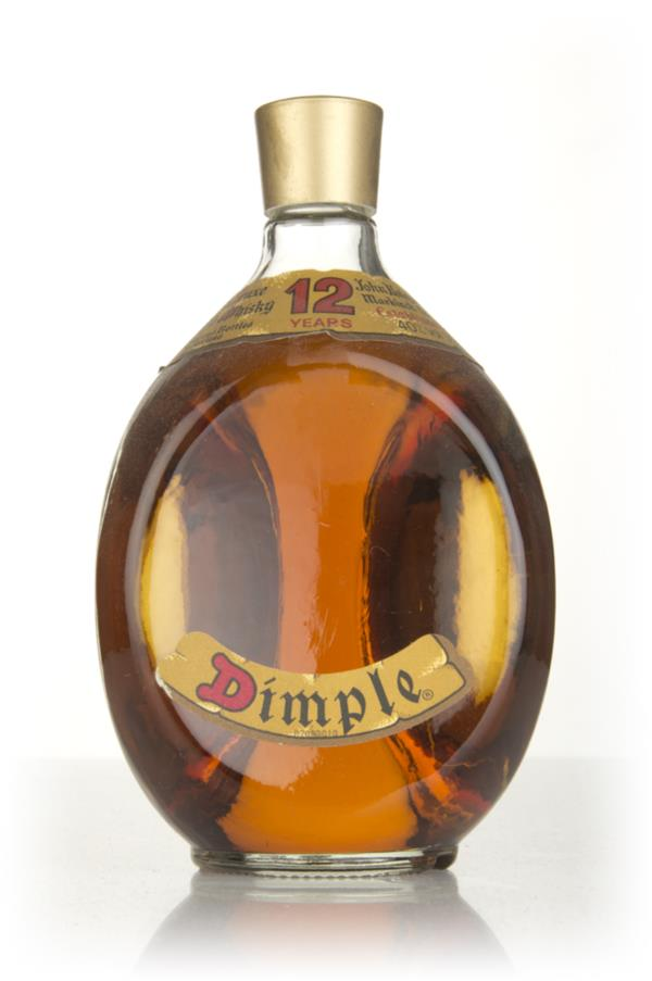 Haig Dimple 12 Year Old (No Box) - 1970s Blended Whisky