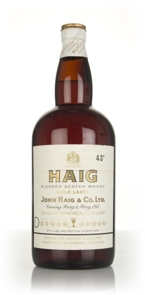 Haig Gold Label (2L) - 1960s Blended Whisky
