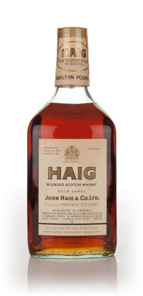 Haig Gold Label 2l - 1970s Blended Whisky