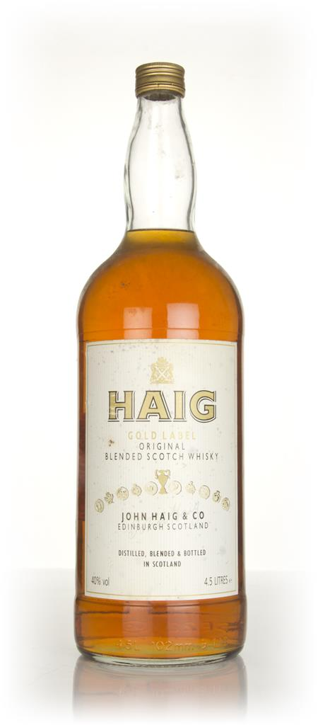 Haig Gold Label (4.5L) - 1990s Blended Whisky