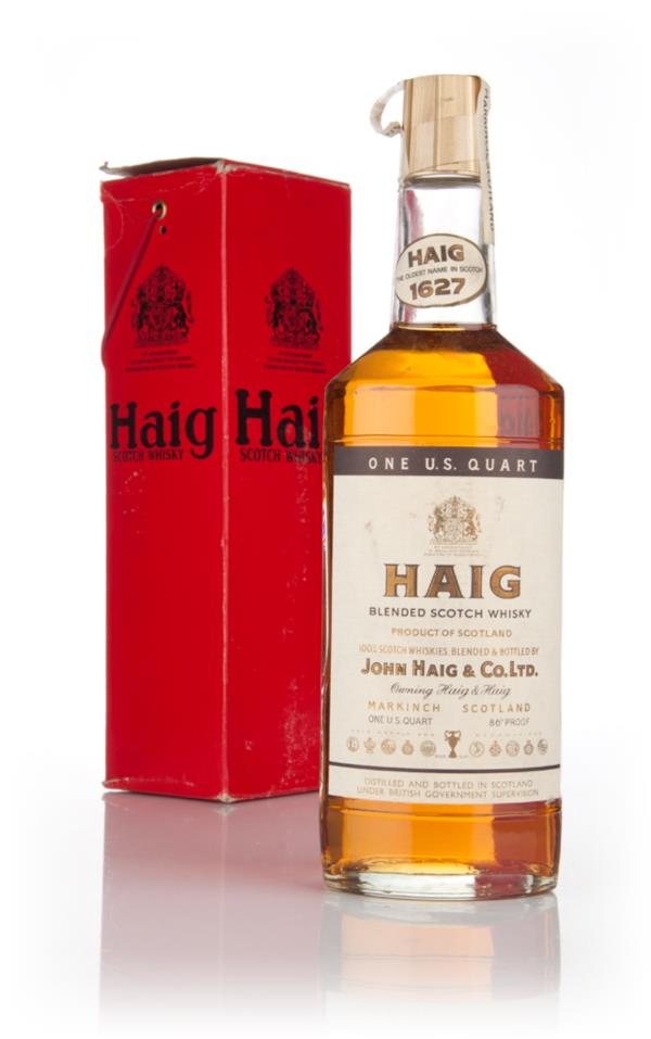 Haigs Blended Scotch Whisky - 1970s Blended Whisky
