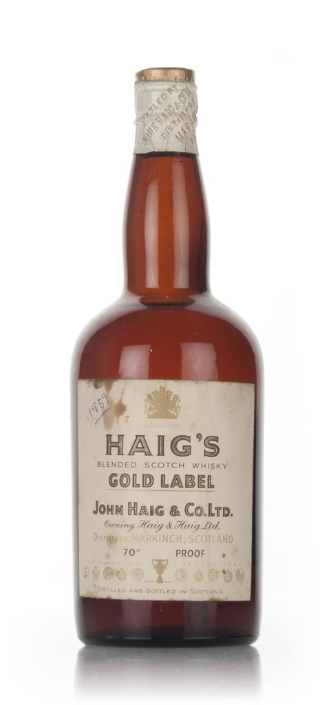 Haigs Gold Label - 1950s Blended Whisky