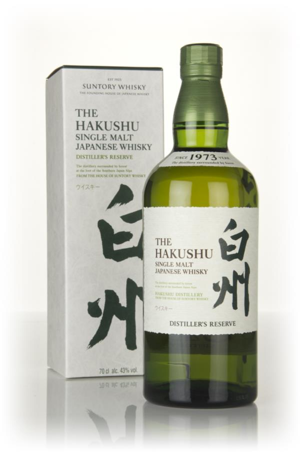 The Hakushu Single Malt Whisky - Distillers Reserve 3cl Sample Single Malt Whisky