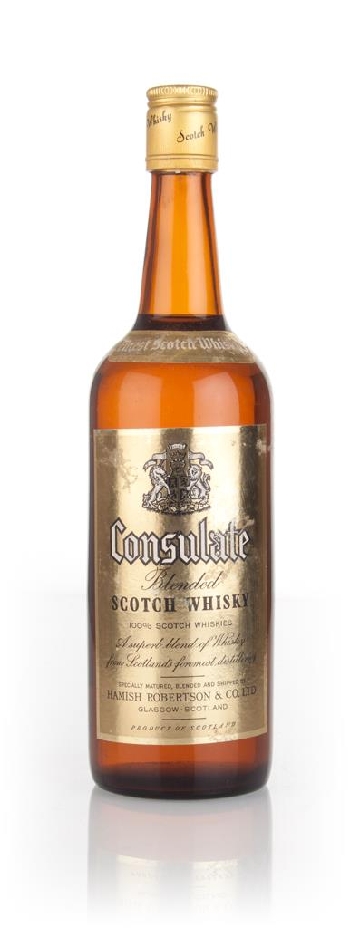 Consulate Blended Scotch Whisky - 1970s Blended Whisky