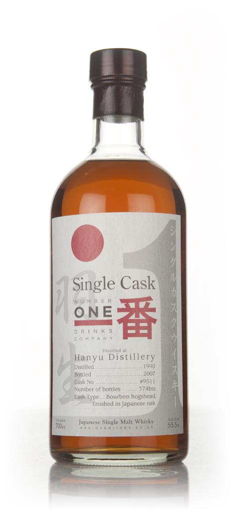 Hanyu 1990 (bottled 2007) (cask 9511) Single Malt Whisky