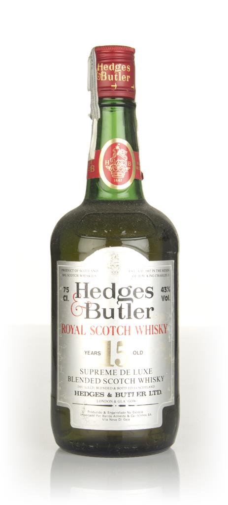 Hedges & Butler 15 Year Old - 1980s Blended Whisky