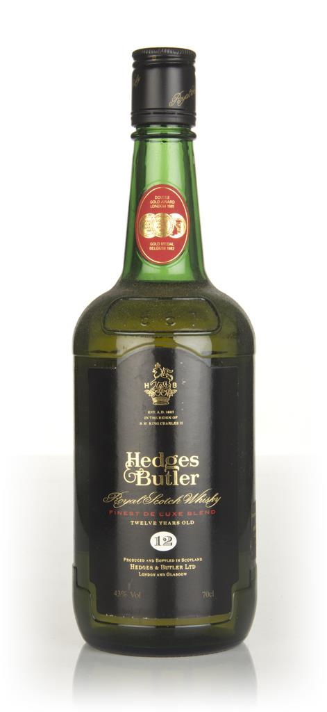 Hedges & Butler 12 Year Old - 1980s Blended Whisky