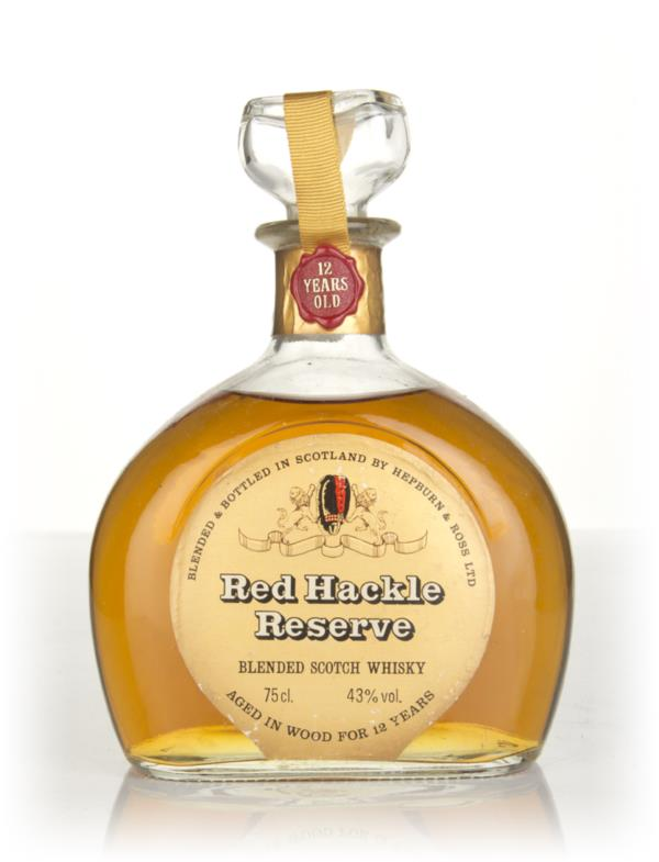 Red Hackle 12 Year Old - 1970s Blended Whisky