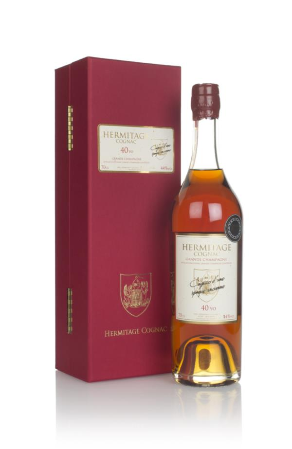 Hermitage 40 Year Old Grande Champagne Cognac Hors d'age Whisky