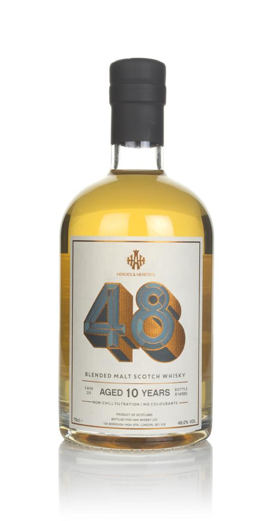 The 48 10 Year Old (Cask 23) - Heroes & Heretics Blended Malt Whisky
