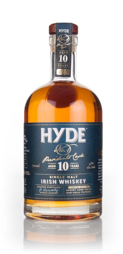 Hyde 10 Year Old No.1 Presidents Cask Single Malt Whiskey