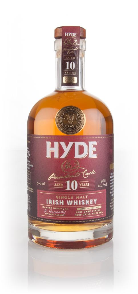 Hyde 10 Year Old No.2 Presidents Cask Single Malt Whiskey