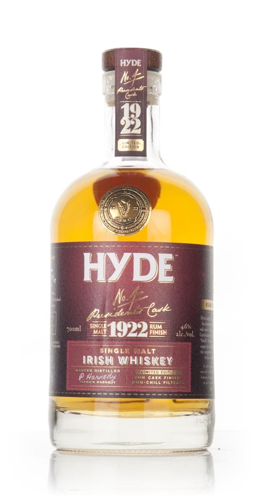 Hyde 6 Year Old No.4 The Presidents Cask Single Malt Whiskey