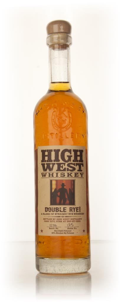 High West Double Rye! 75cl Rye Whiskey