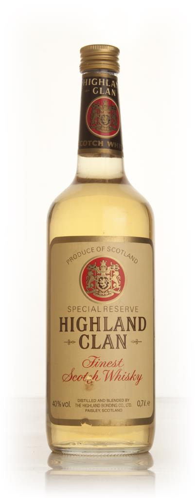 Highland Clan Special Reserve - 1970s Blended Whisky