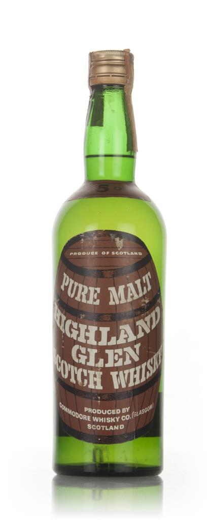 Highland Glen - 1960s Blended Whisky