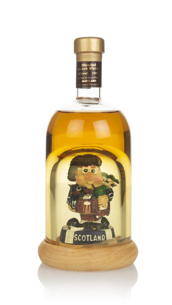 Highland Malt Decanter with Bagpipe Player Blended Whisky