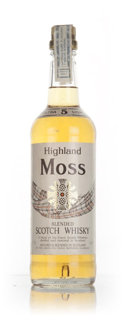 Highland Moss 5 Year Old - 1970s Blended Whisky