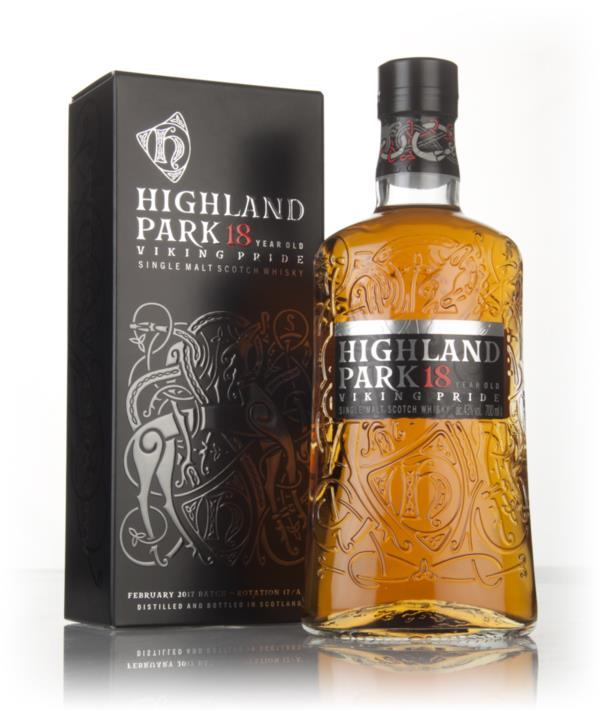 Highland Park 18 Year Old - Viking Pride 3cl Sample Single Malt Whisky