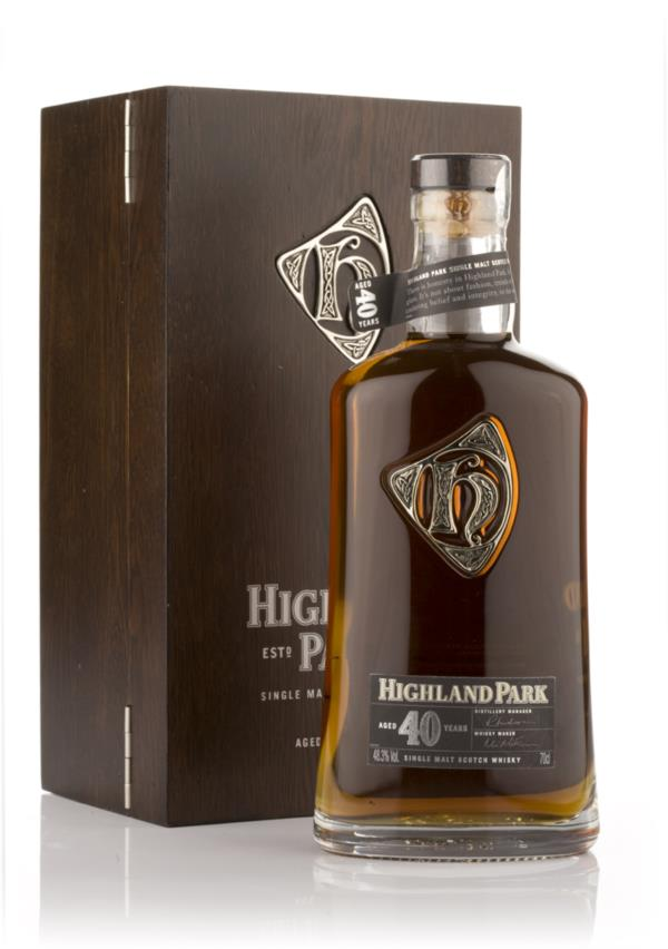 Highland Park 40 Year Old 3cl Sample Single Malt Whisky