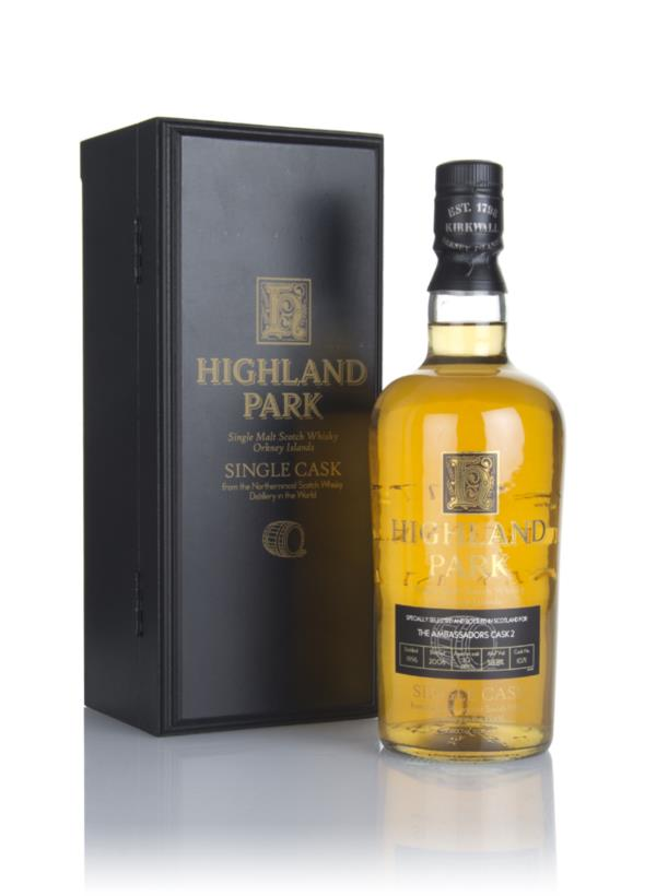 Highland Park 10 Year Old 1996 (cask 1071) - The Ambassadors Cask 2 Single Malt Whisky