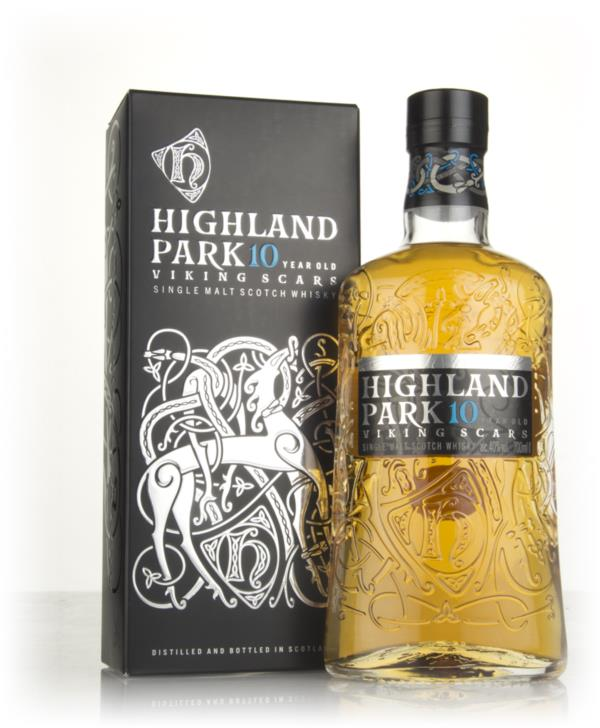 Highland Park 10 Year Old - Viking Scars Single Malt Whisky