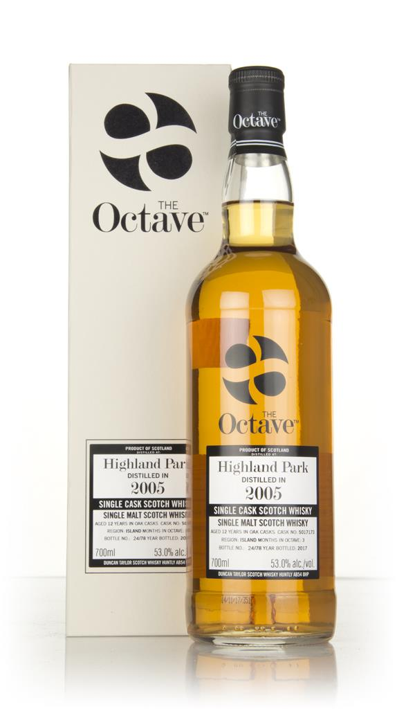 Highland Park 12 Year Old 2005 (cask 5017173) - The Octave (Duncan Tay Single Malt Whisky