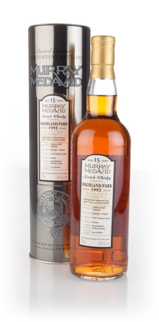 Highland Park 15 Year Old 1992 (Murray McDavid) Single Malt Whisky