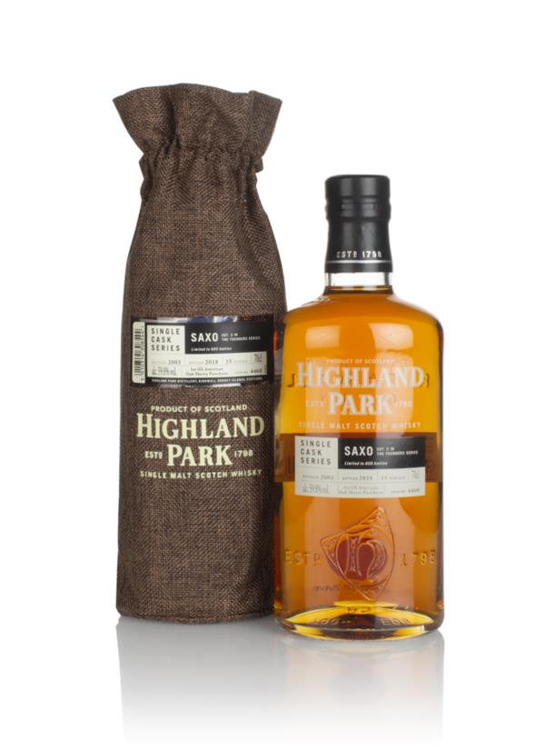 Highland Park 15 Year Old 2003 (cask 4460) - Saxo (The Founders Series Single Malt Whisky