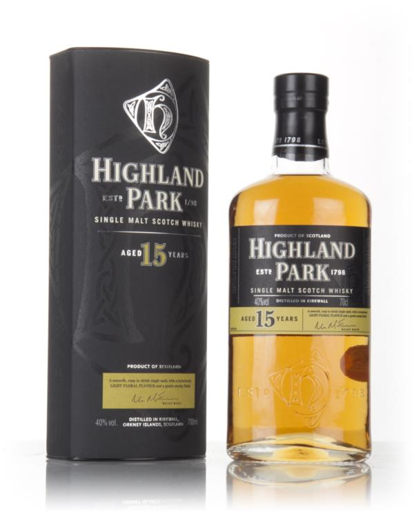 Highland Park 15 Year Old Single Malt Whisky