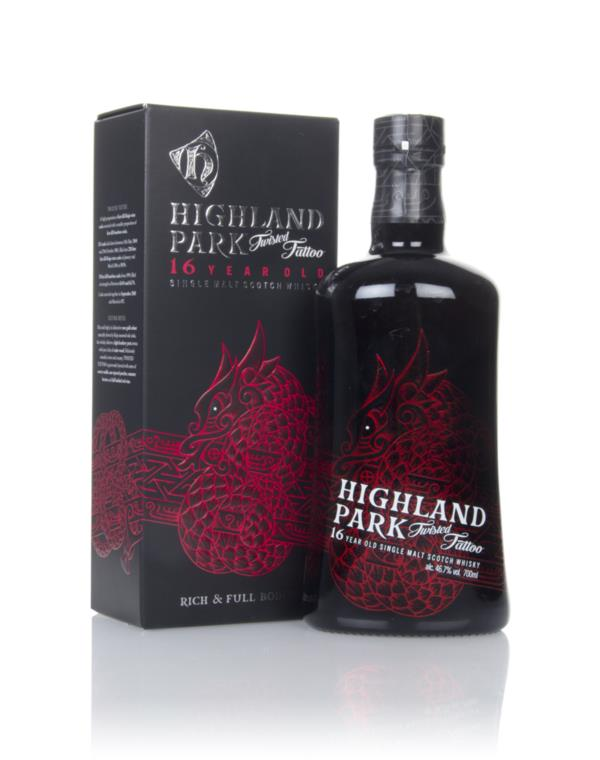 Highland Park 16 Year Old Twisted Tattoo Single Malt Whisky