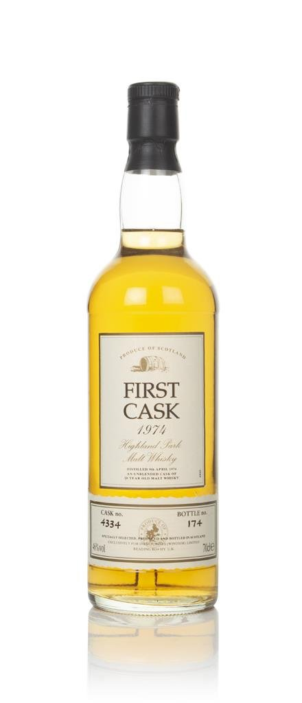 Highland Park 20 Year Old 1974 (cask 4334) - First Cask Single Malt Whisky