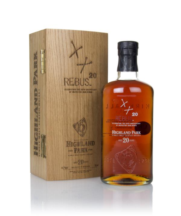 Highland Park 20 Year Old Rebus Single Malt Whisky