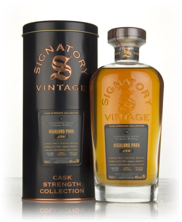 Highland Park 26 Year Old 1990 (cask 15705) - Cask Strength Collection Single Malt Whisky