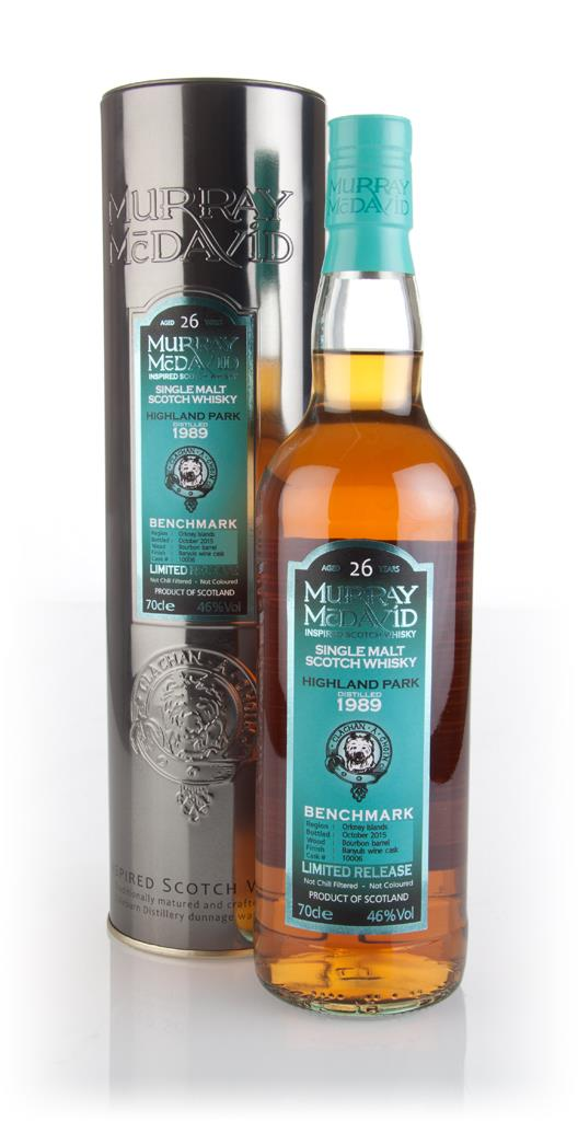 Highland Park 26 Year Old (cask 10006) - Benchmark (Murray McDavid) Single Malt Whisky